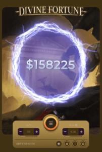 カジ旅のジャックポット(Divine Fortune)
